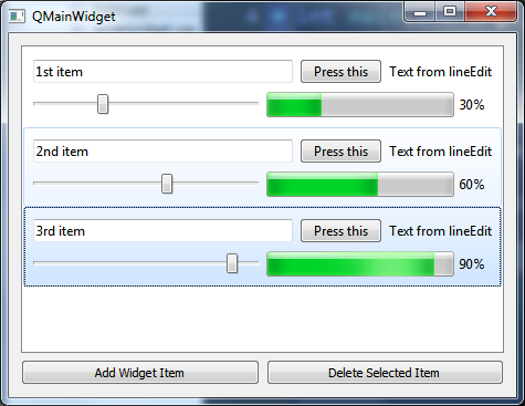Quick Qt: 3] How to dynamically create QListWidgetItem and add it