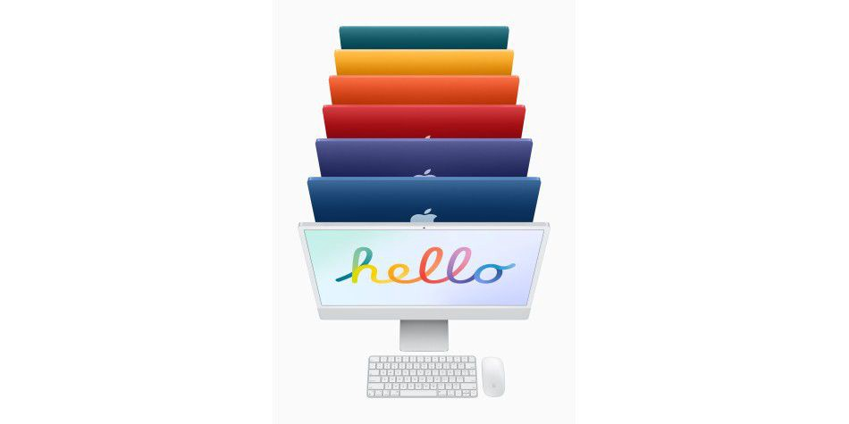 New iMac 2021 In Seven Colors And With M1 - Medium