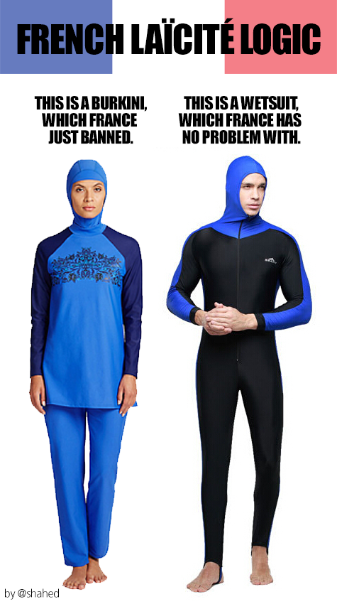 4375d1d329 Observers following the ongoing burkini debacle might have concluded that  since hijabs and niqabs are already banned in certain circumstances, ...