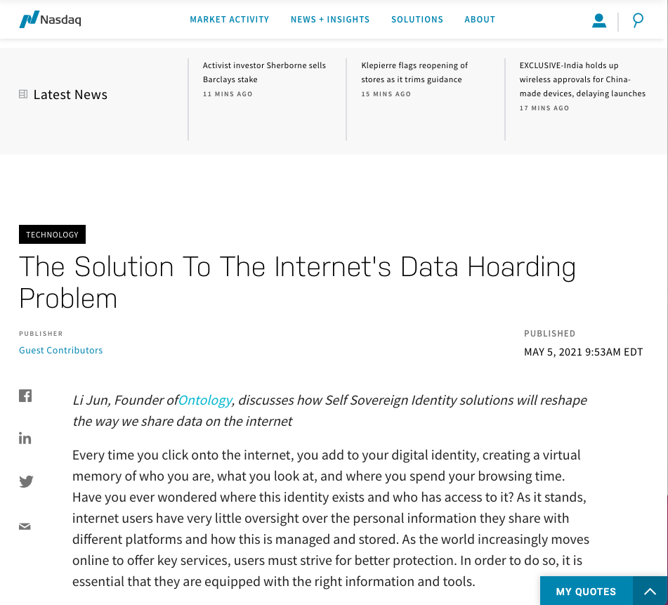 The Solution To The Internet's Data Hoarding Problem