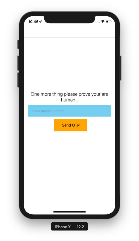 Create a Reusable React Native OTP SMS component - Bits and