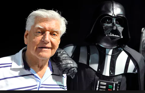David Prowse with Darth Vader (Source: The Telegraph UK)