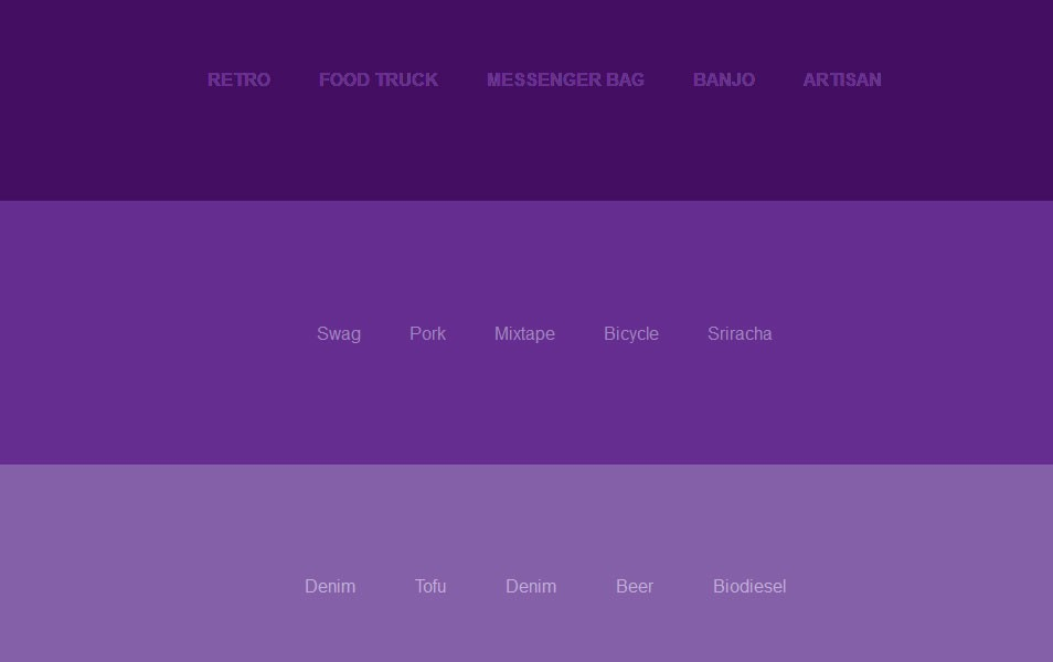 jQuery & CSS3 Link Hover Effects Tutorials - Bradley Nice