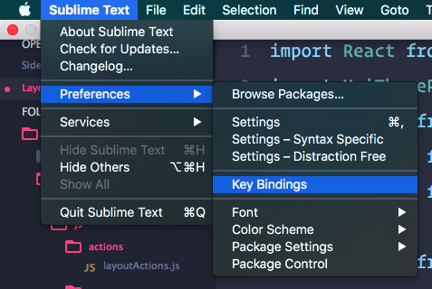 Your new ReactJS on Sublime Text 3 workspace setup - Eduardo