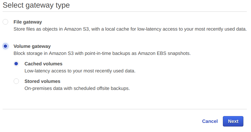 Hands-On Lab with AWS Storage Gateway part 1 — Gateway-Cached