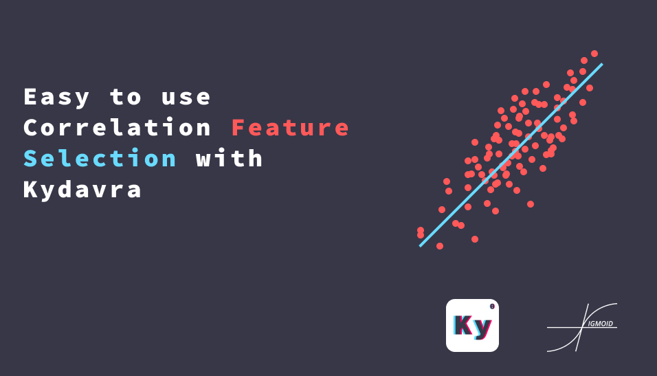 Easy to use Correlation Feature Selection with Kydavra