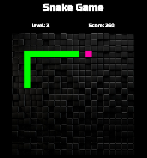 Did I just make a snake game within my first 6 weeks of