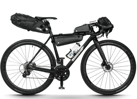 What a typical bikepacking bicycle looks like.
