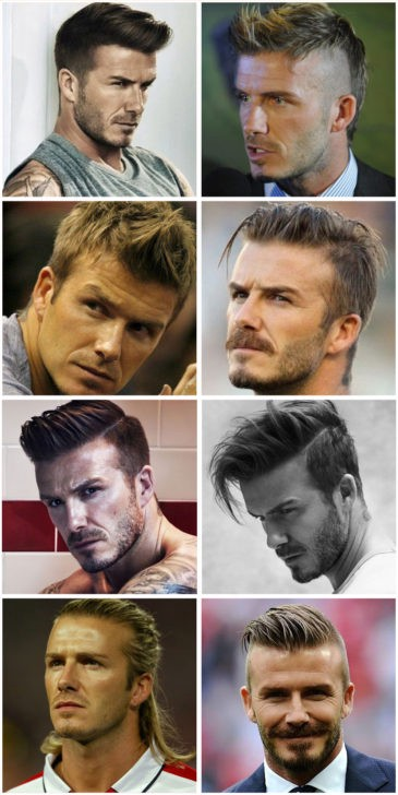 How To Get David Beckhams Undercut Haircut 27 David Beckham