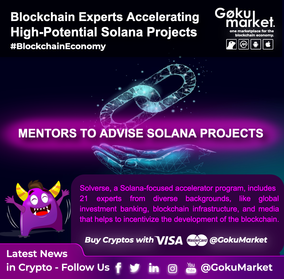 Top #Blockchain Experts Accelerating the High-Potential Solana Projects!
