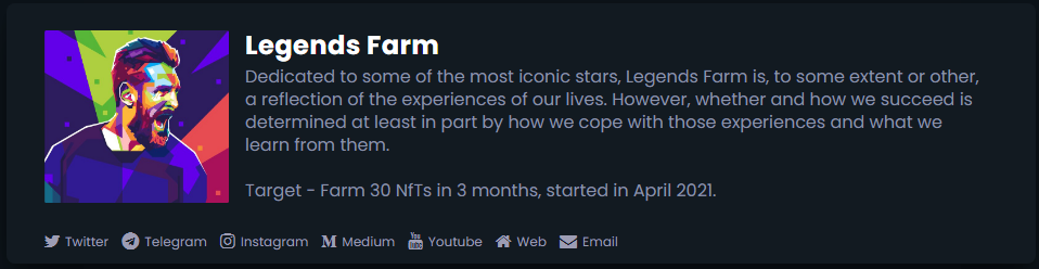 How to FARM our NfTs?
