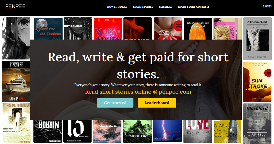 A platform that allows you to write short stories for money