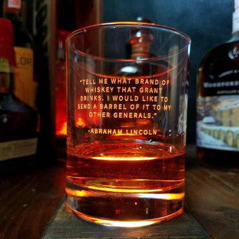 Whimsical Whiskey Quotes - Bourbon & Boots - Medium