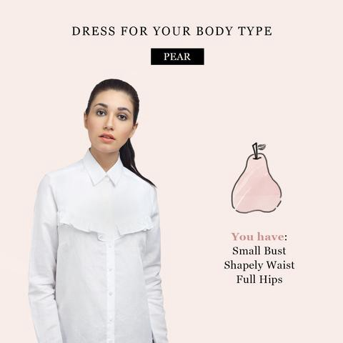 Do's and Don'ts of Styling for a Pear Body Shape - Ombré Lane - Medium