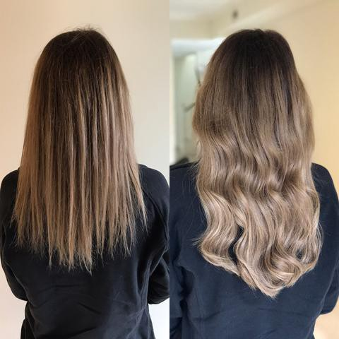 Halo Extensions The Best Hair Extensions For Balayage