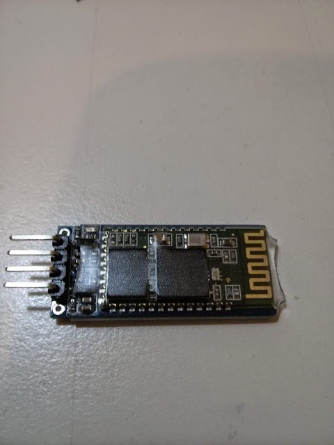 in this post i describe how i connected arduino uno (for other arduino  types the wiring are similar) with a jy-mcu hc-06 bluetooth module i had  bought some