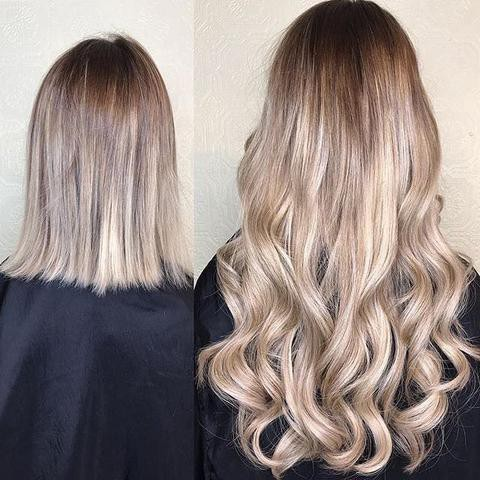 Will Hair Extensions Blend If I Have Short Hair By Apo Beauty Medium
