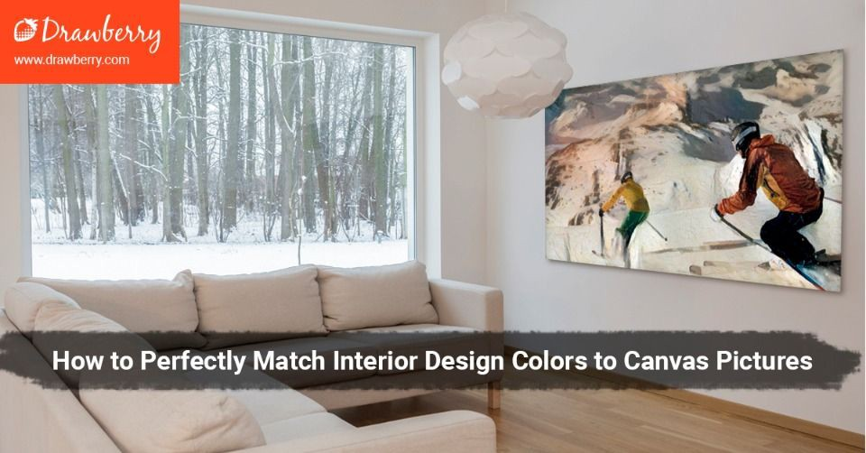 How To Perfectly Match Interior Design Colors To Canvas