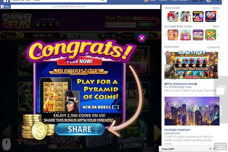 House Of Fun Free Spins And Coins By Advantagegame Feb 2021 Medium