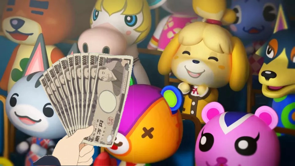 A Grey Market For Animal Crossing To Buy Any Item You Want Using