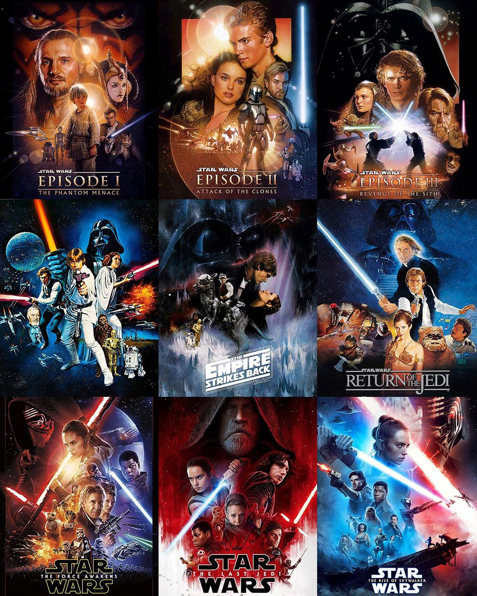 Star Wars Films Ranked As The Skywalker Trilogy Comes To An By Samuel M Tuero Medium