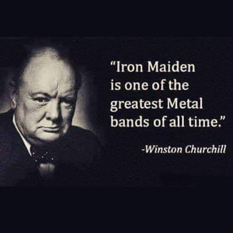Winston Churchill with false quote