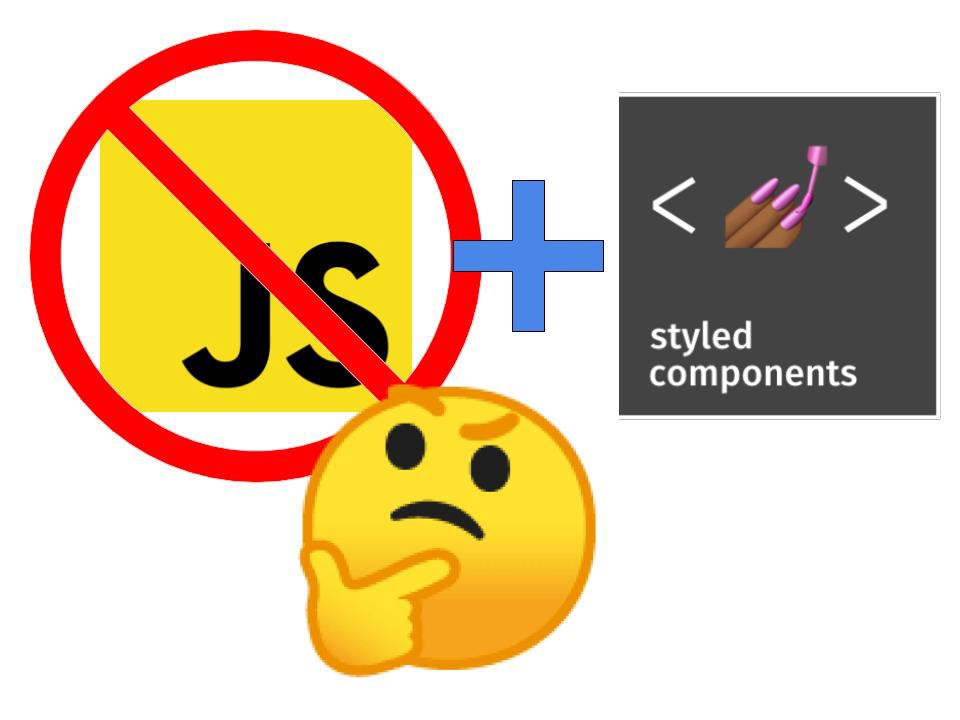 JavaScript-Less Static SSR Using Styled Components