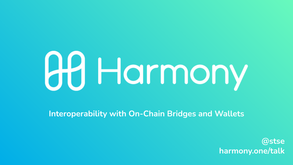 Interoperability with On-Chain Bridges and Wallets