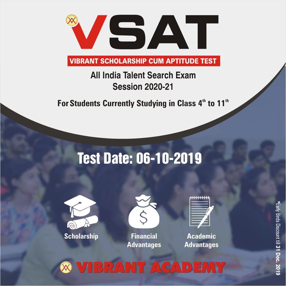 Highest Quality Coaching for IIT Entrance: Vibrant Academy