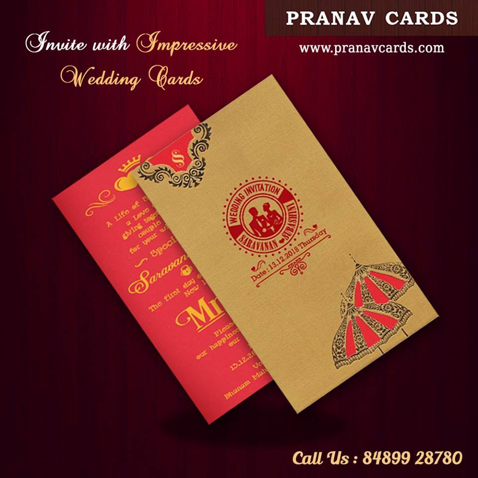 For Unique And Latest Hindu Wedding Cards Designs Online