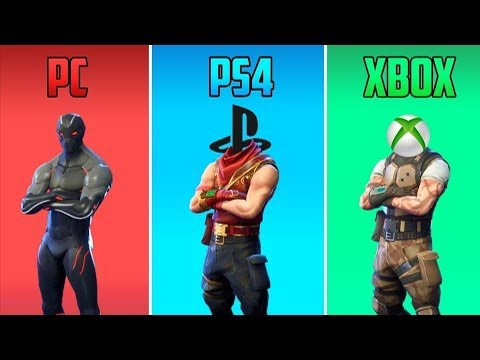 Fortnite crossplay guide for PC, PS4, Xbox One, Switch, Mac