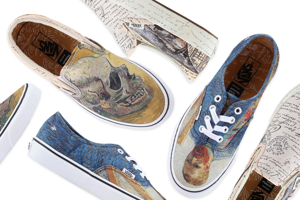 New Drop: Vans x Vincent Van Gogh THREAD by ZALORA | #1