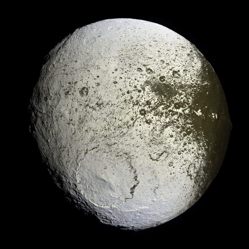 After 350 years, astronomers still can't explain the solar system's strangest moon