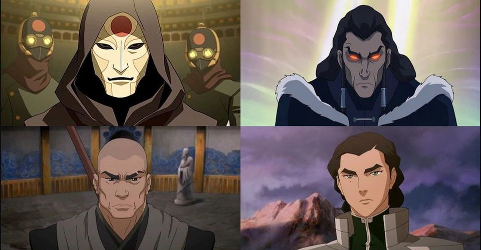 Korra S Defining Villains And What Does It Mean To Be The Avatar By Jeannette Ng Jul 2020 Medium