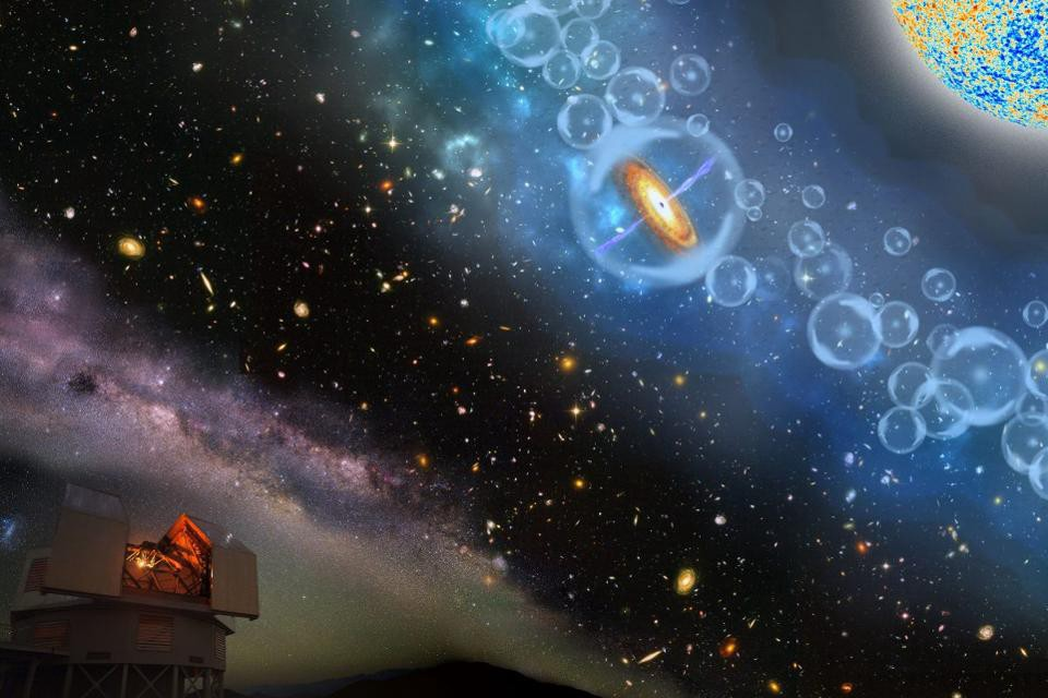 Biggest, Youngest Black Hole Ever Shocks Astronomers