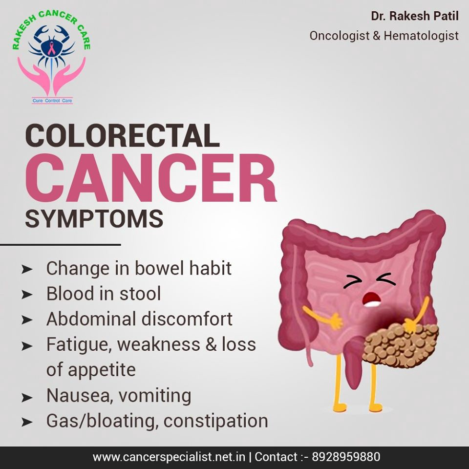 Symptoms Of Colo Rectal Cancer Changes In Bowel Habit Blood In By Dr Rakesh Patil Medium