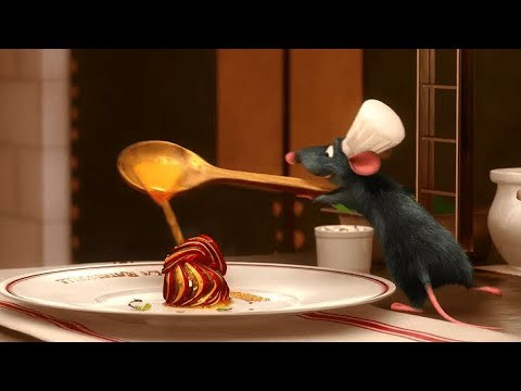 chef Remy cooking ratatouille