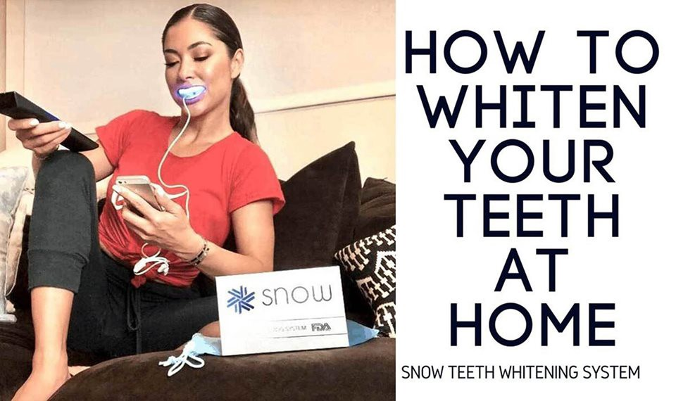 Snow Teeth Whitening  Worldwide Warranty