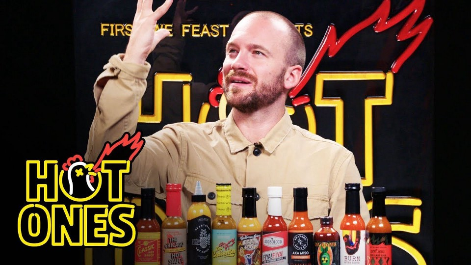 The popular YouTube show Hot Ones