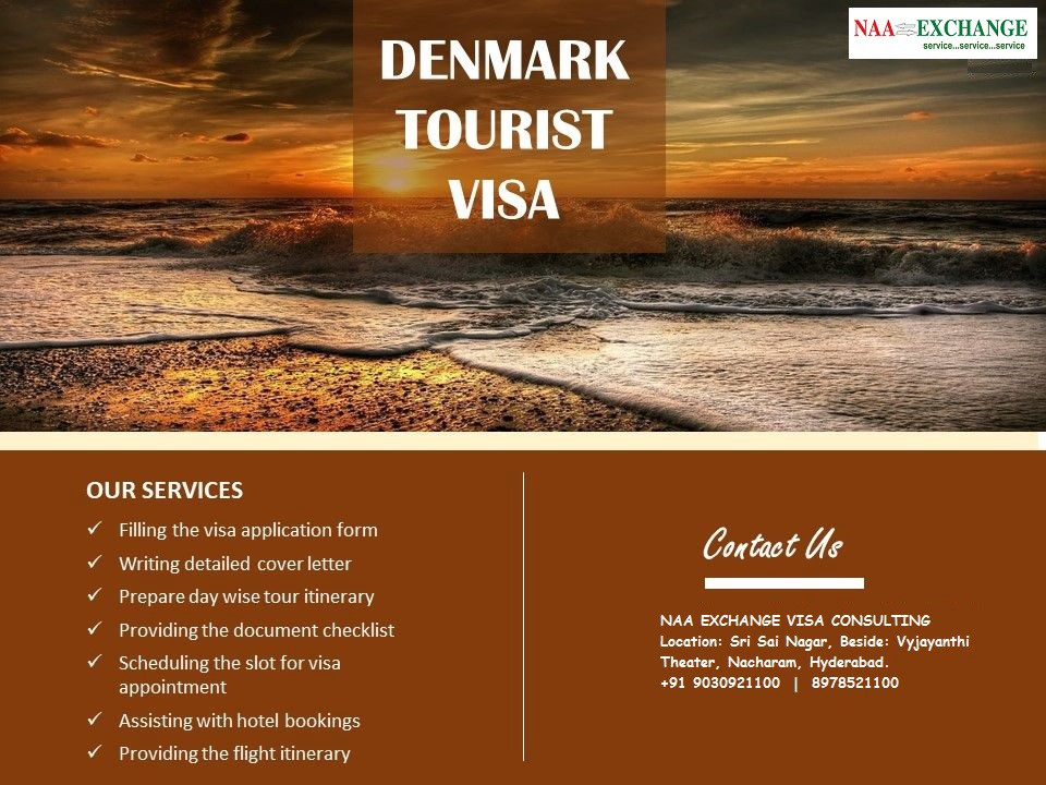 Denmark Tourist Visa Services Available Reach Naa Exchange By Naa Exchange Medium