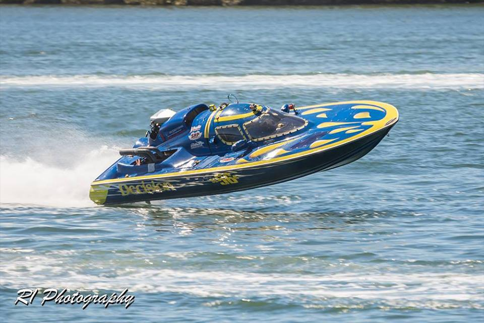"""Yes you can own a turn key V8 blown motor race boat """"Send"""