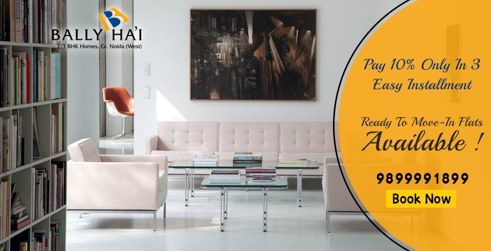 Top 3 Bhk Flats Apartments Projects In Greater Noida West By Ballyhai Homes Medium
