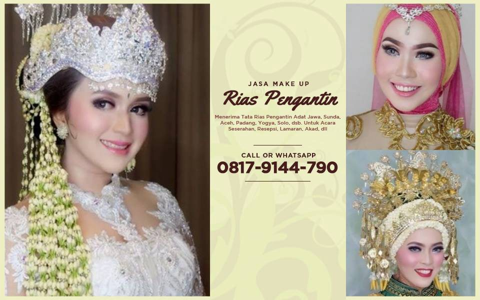 Discount Wa 08179144790 Paket Make Up Rias Pengantin