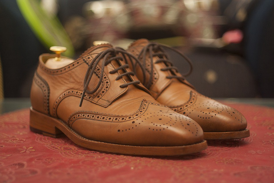 Brogue and an Oxford shoe