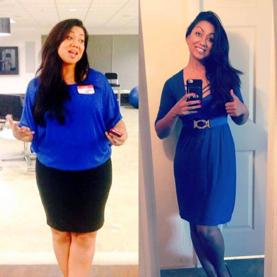Weight loss results for eat to live
