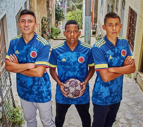 World Cup 2020 Colombia.New Colombia 2020 2021 Second Jersey Huyang Medium