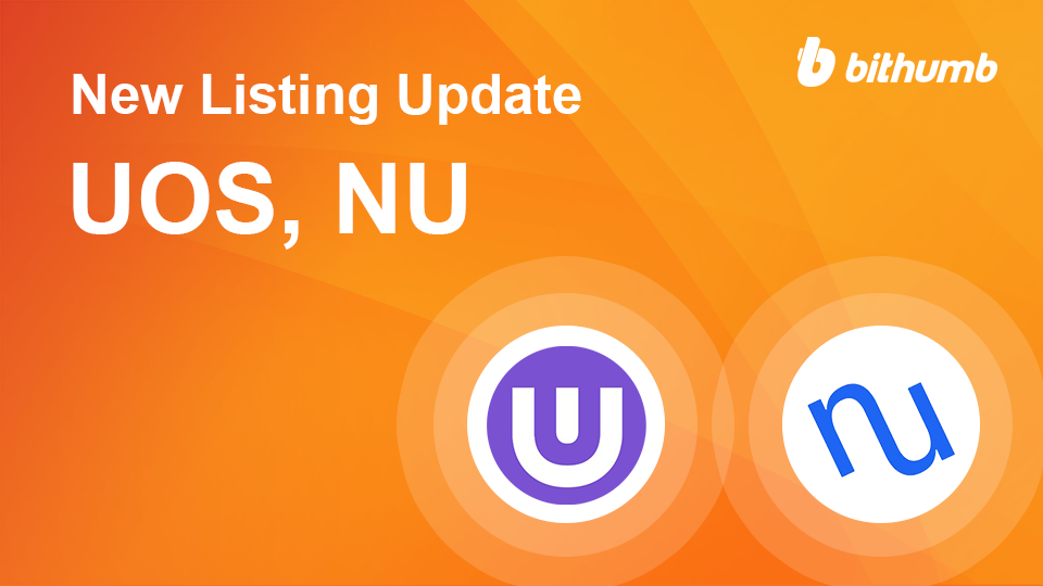 [Listing] Ultra(UOS), NuCypher(NU)