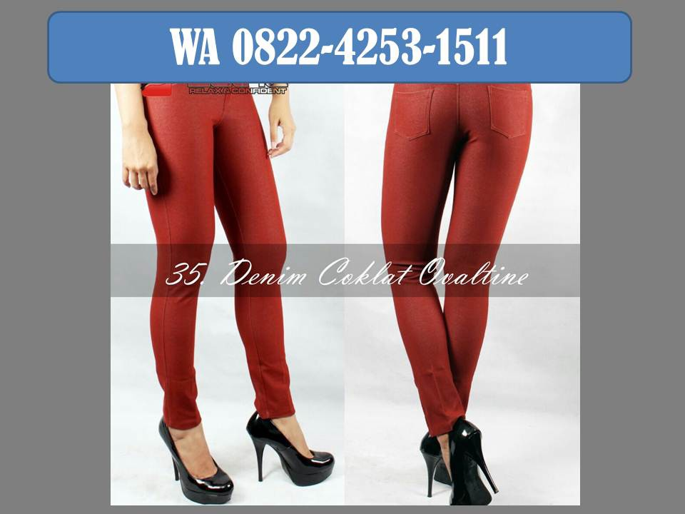 Promo Wa 0822 4253 1511 Legging Zetha Murah By Distributor Celana Denim Medium