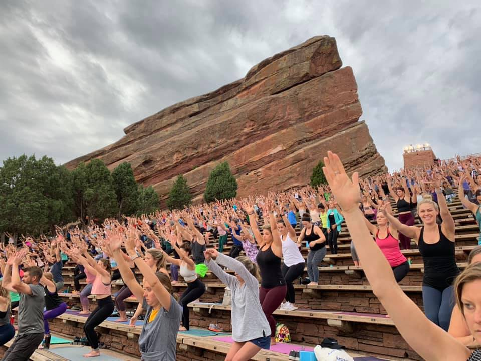 In Search Of Inner Peace At Red Rocks Amphitheater By Janay Wright Medium
