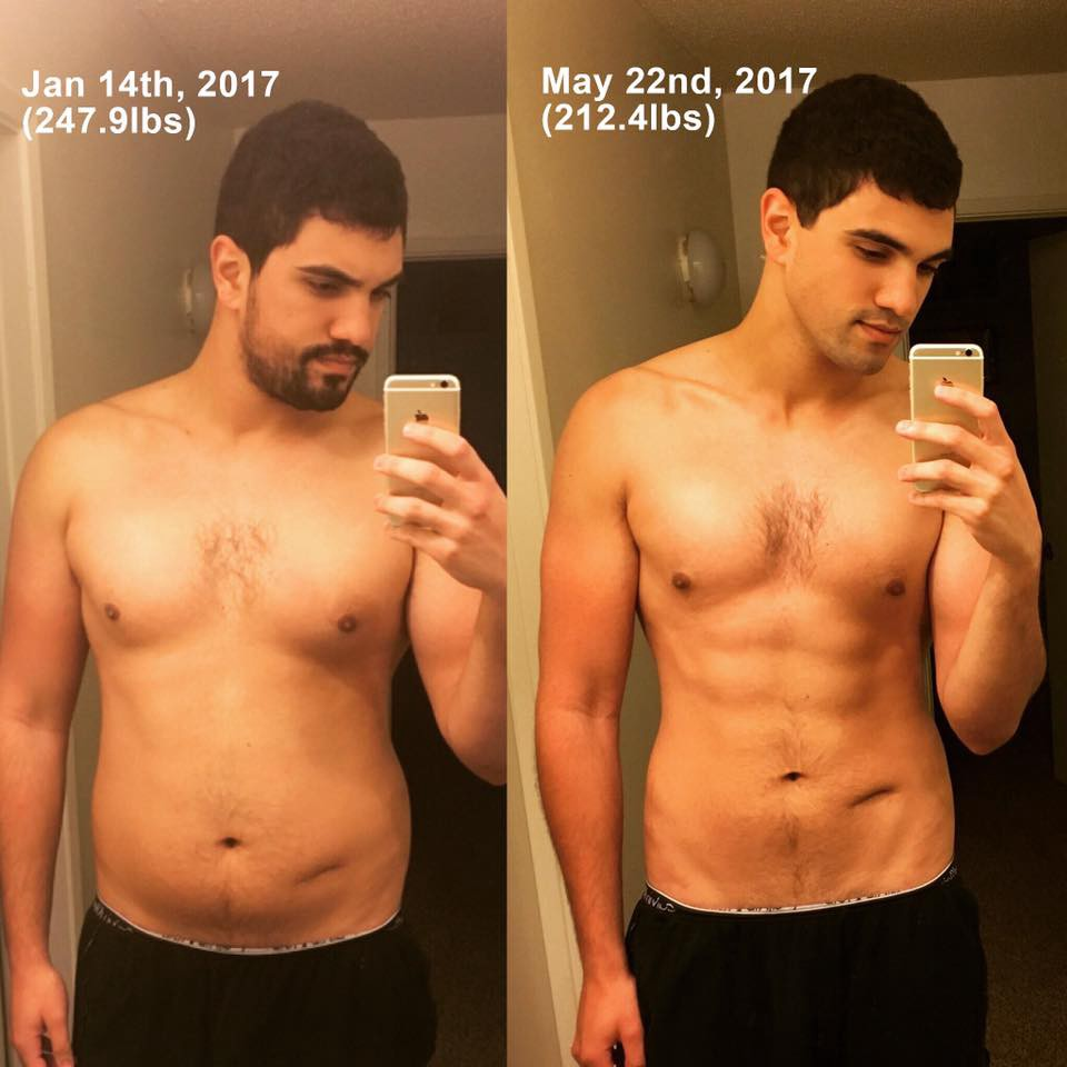 To weight the way gym lose at best